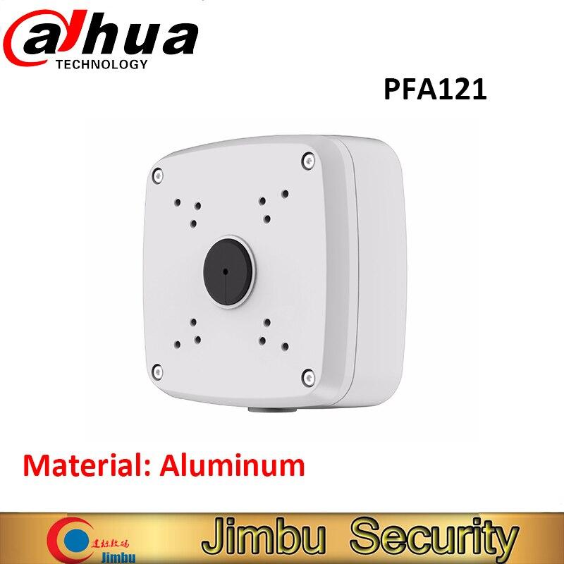 Oroginal DAHUA IP bullet Camera Brackets Junction Box PFA121 CCTV Accessories Camera Mount Aluminum material dahua junction box pfa131