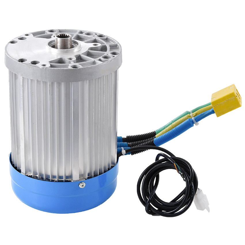 Machine Tools Accessories Motor 60v 3000w 4600rpm Permanent Magnet Brushless Differential Speed Dc Motor Electric Vehicles