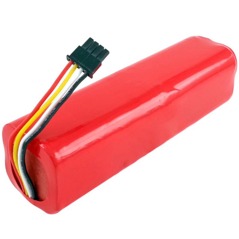 HOT!Rechargeable For Xiaomi Mijia Robot Battery 14.4V 5600Mah Roborock S50 S51 Robot Vacuum Cleaner Accessories Parts Red