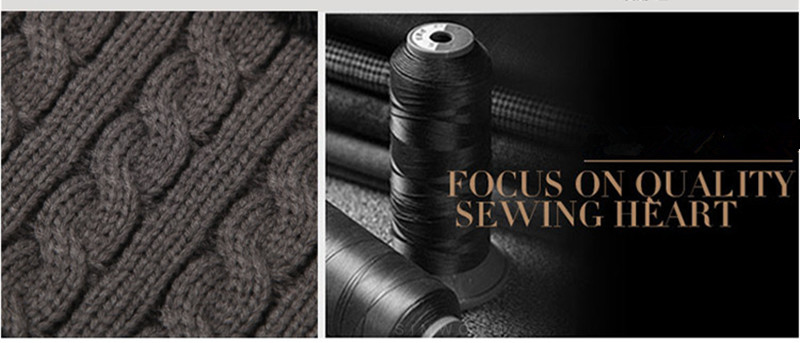 Invierno de los hombres del sombrero caliente knit Beanie más ... 19f583d8f19