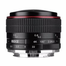 MEIKE MK-6.5mm F2.0 Fisheye Lens for Canon EF-M Mount Lens Camera