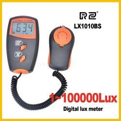RZ nouveau professionnel numérique compteur de lumière 100000 Lux Original paquet de détail en gros LX1010BS