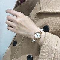 Women's Watch Geneva Watch Small Artificial Leather Quartz Analog Watch Women's Bracelet Watch Hot Sale