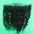 7А Глубокая волна Кружева Фронтальная Закрытие Бразильские Кружева Лобные глубокая вьющиеся Уха До Уха 13x2 Полное Закрытие Фронтальная С Ребенком волос