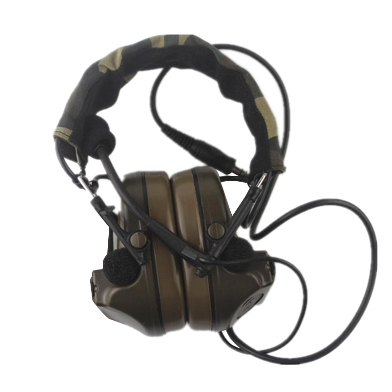 Z-TAC Z Tactical Aviation Comtac II Headset Peltor Noise Canceling Airsoft Paintball Hunting Headphones Z-Tactical Denoise Z014 генератор дыма antari z 800 ii