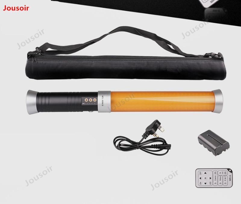 Mini portátil de Color doble temperatura fotografía recarga palo fuera disparando como lámpara pequeña palo de Luz Portátil CD50 T03 - 2
