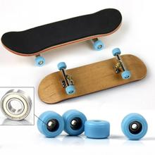 все цены на Kids Skate Boarding Toy PU Maple Wood Cute Party for Children Mini Finger Skateboards Toys Excellent Collection Gift #05 онлайн