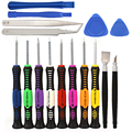 16 in 1 Mobile Phone Cellphone Opening Repair Tools Screwdrivers Set Kit Precision For iPhone Samsung HTC Tablet Hand Tools #KF