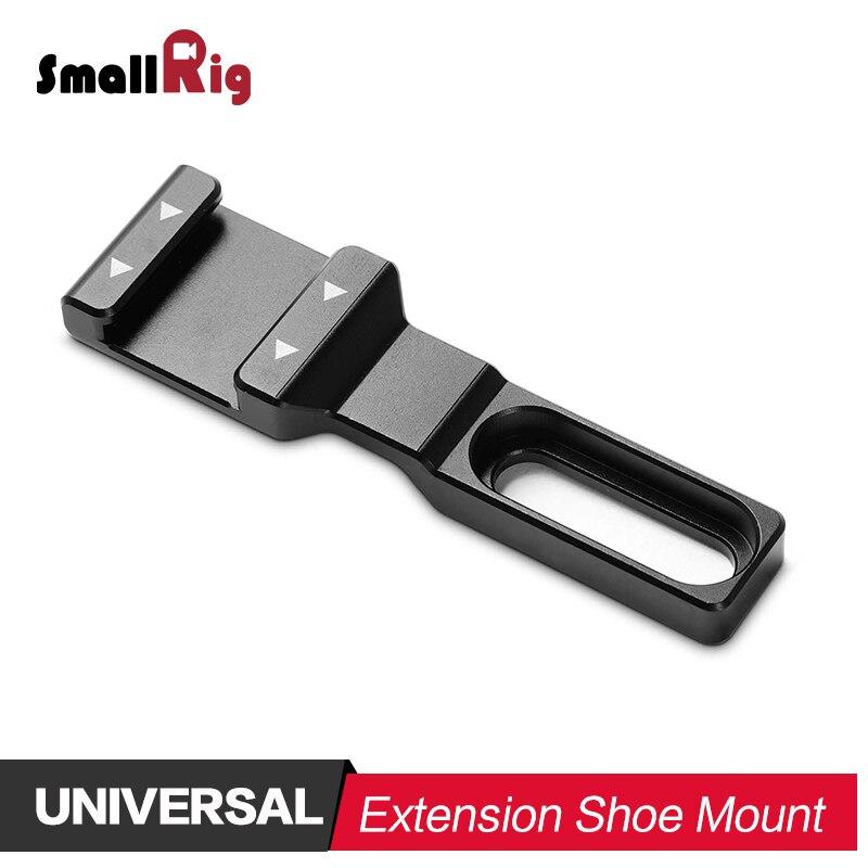 SmallRig DSLR Cámara zapato adaptador de montaje frío de extensión de zapatos para Monitor luz de Flash soporte de micrófono 2044