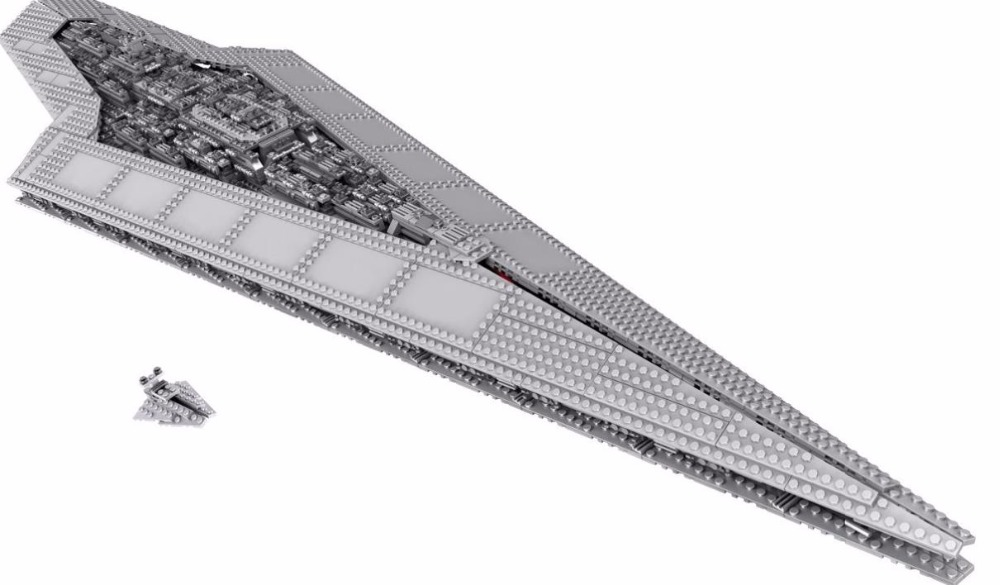 New Star Wars Imperial Super Star Destroyer Building Blocks Model Compatible with 10221 Lepin Toys Bricks Best Gift For Children new lepin 16009 1151pcs queen anne s revenge pirates of the caribbean building blocks set compatible legoed with 4195 children