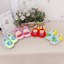 New fashion 1 Pair Newborn Infant Baby Cartoon Girls Boys Soft Prewalker Casual Flats Shoes Comfortable Shoes n# dropship(China)