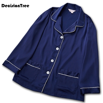 2020 satin silk pajamas shorts for men rayon silk sleepwear male pajama set soft nightgown for men pyjamas