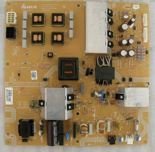 for philips LCD TV 40PFL5605 40PFL6655D93 power supply board DPS-206CP 2950248907  is used