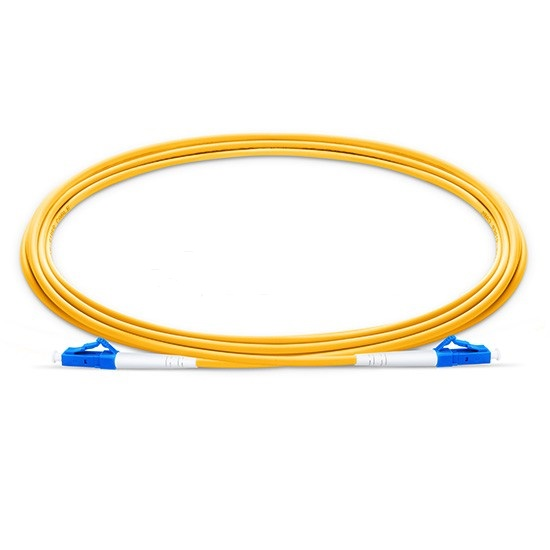 Image 2 - LC UPC Patchcord 15m Fiber Optic Patch Cord  Duplex 2.0mm PVC Optical Jumper Single Mode FTTH Fiber Patch Cable LC Connector-in Fiber Optic Equipments from Cellphones & Telecommunications