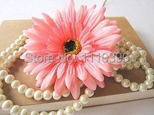 11CM Large flowers silk gerbera,Artificial gerbera daisy flower head for Diy hair accessories,wrist corsage decoration,headdress