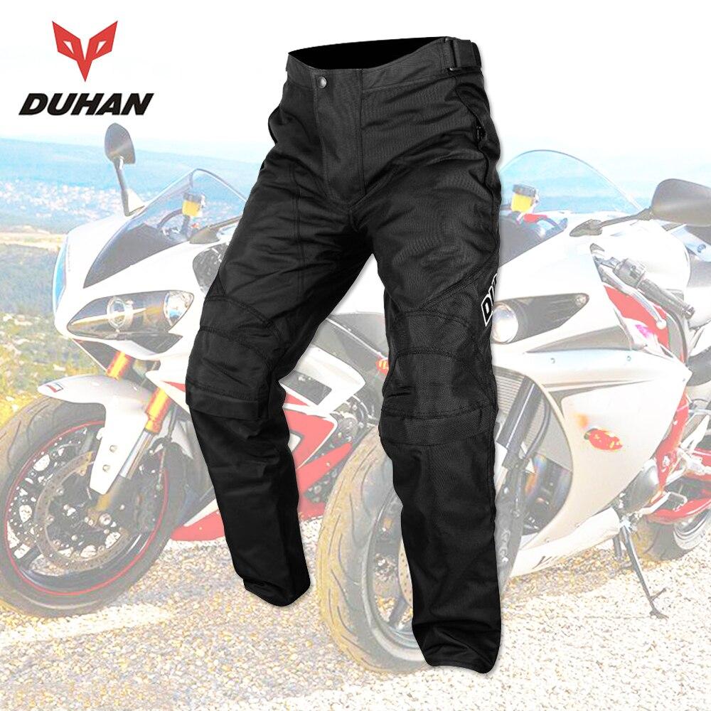 DUHAN Motorcycle Men Moto Pants Motorcycle Trousers Motorcycle Trousers Pantalon Moto Oxford Cloth Enduro Racing Pantalon Pants