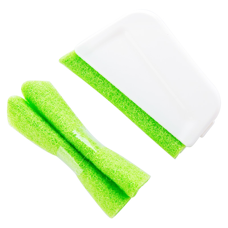 1 set Window trench Nook Cranny wipe door cleaning brush Household kitchen Floor Gap groove corner Cleaning tool device in Cleaning Brushes from Home Garden