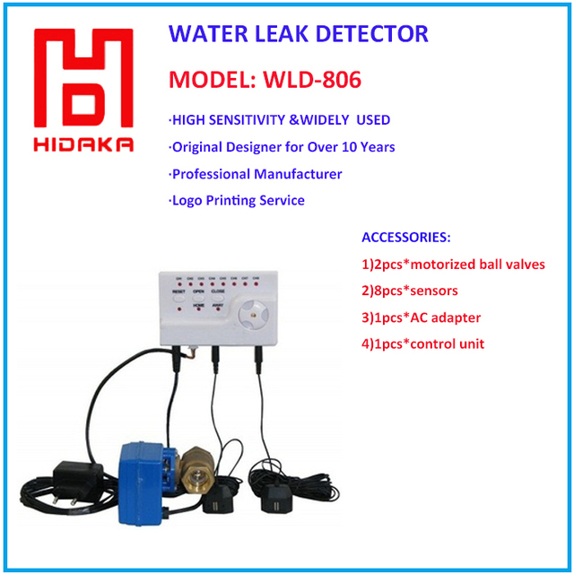 Smart Home Security Alarm System for Water Leaking Alarm (DN20*1pcs)