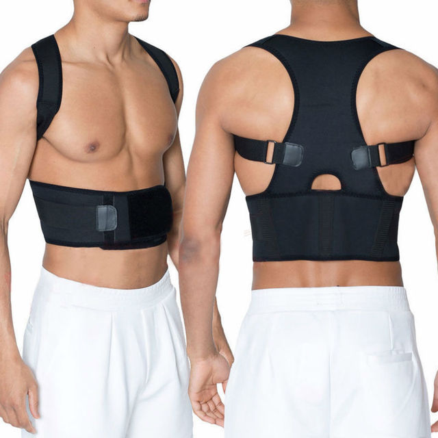 Posture Brace Belt Men Women Lumbar Support for Back Corrector Improve Your B002