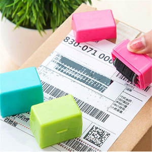 Stamp Self-Inking-Roller-Stamp Security-Guard Your-Id-Privacy-Protection Office-Messy