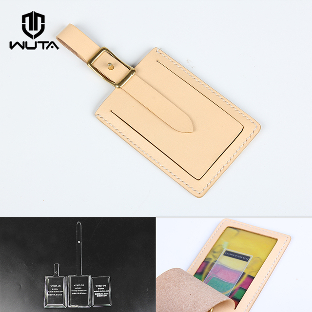 WUTA 837 Acrylic Template for DIY Making Employee Card Holder Photo ...