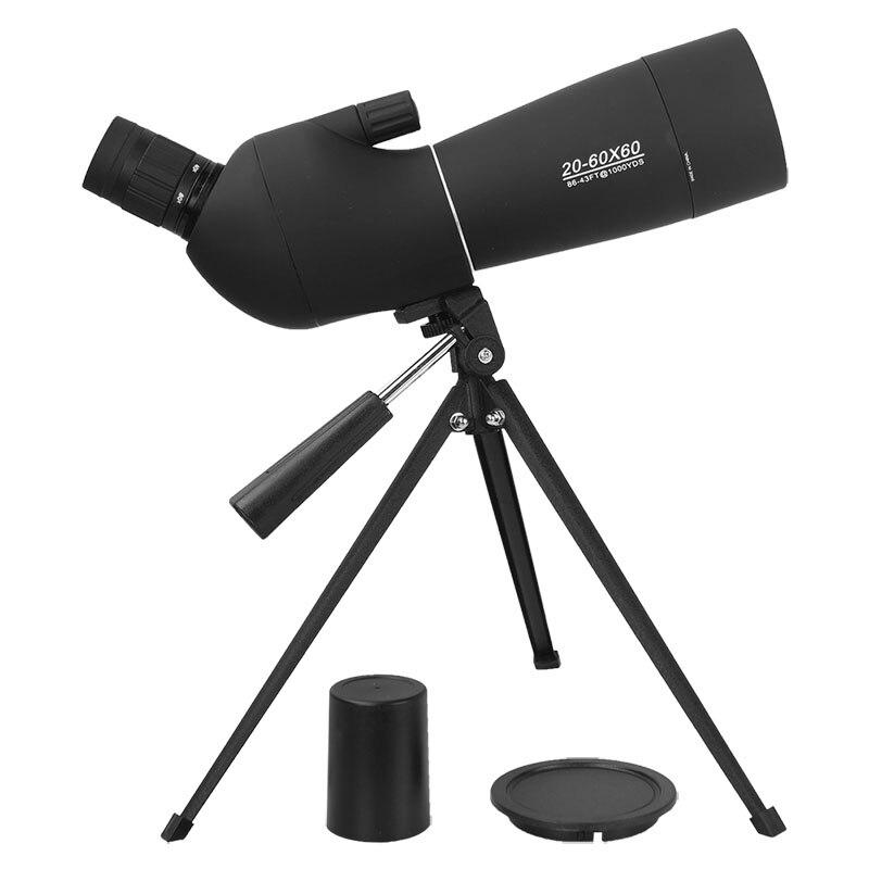 AOMEKIE 20-60X60 Zoom Spotting Scope con trípode HD Óptica Prisma - Caza - foto 2