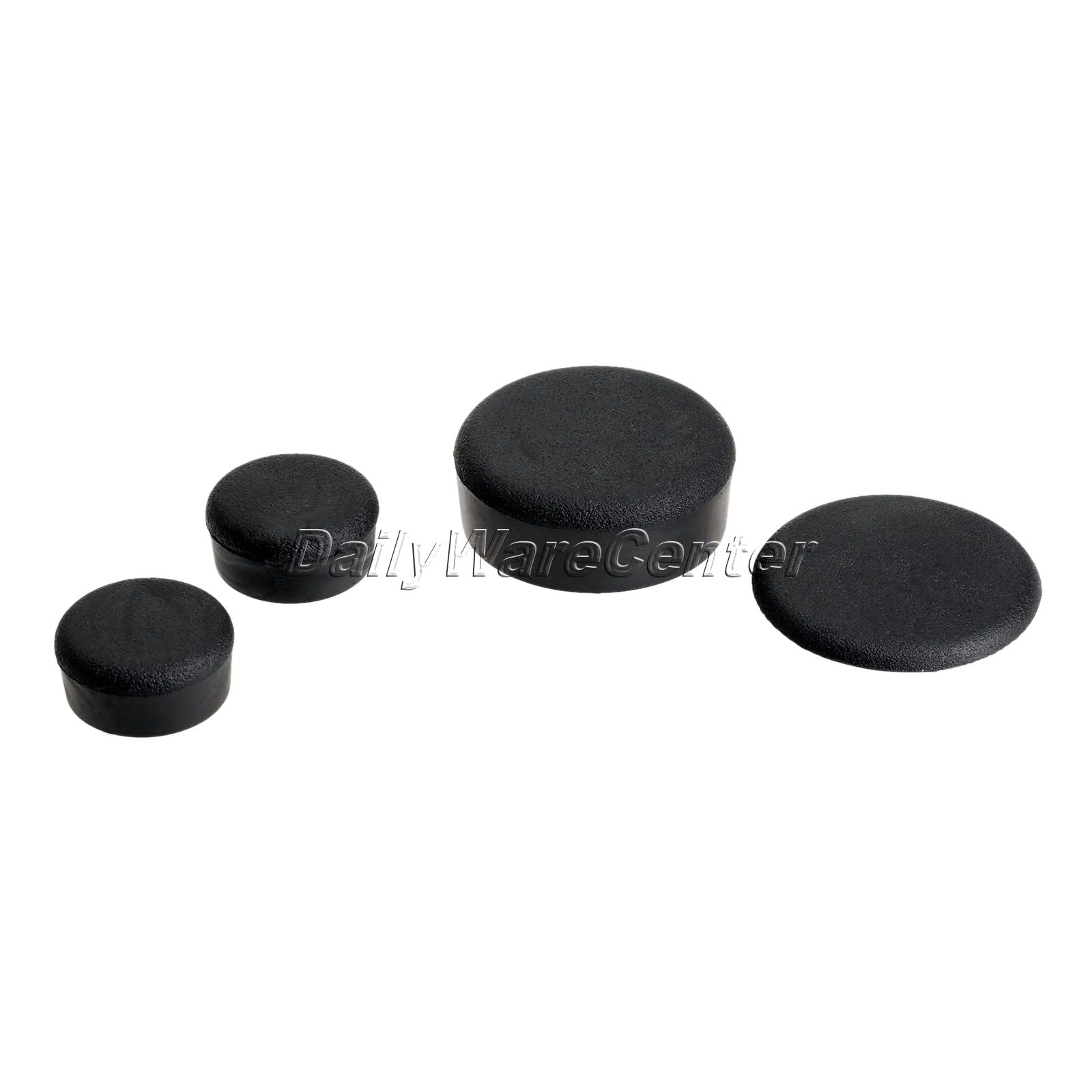 1set/4pcs Rubber Motorcycle Frame Fairings Plugs Black for Yamaha YZF R1 2004 2005 2006 Dirt Bike Frame Plugs Motorbike Parts parts leveling sensor photoelectric nds 40 black plugs