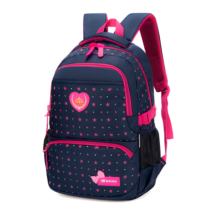 Travel Backpack Shoulder-Bag Star-Printed Girls Waterproof Student Fashion New Canvas