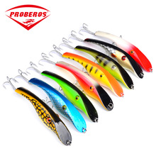 1pc ABS Pencil Fishing Lures Artificial Wobbler Crankbait Rattle Hook 145mm/42g Fishing Sinking Sea Boat Feeder Hard Bait Pesca jerry 1pc 35mm 2 6g trout lures crankbait freshwater fishing bait ultra light micro hard lures slow sinking wobbler