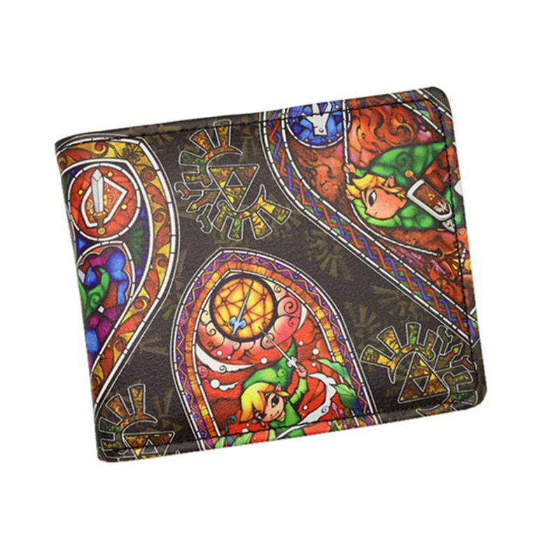 New Design Nintendo Game The Legend of Zelda Wallet Short/Long Wallets for Man Woman Teenagers Dollar Price games the legend of zelda wallet embossing logo leather short purse gifts teenager boy girl dollar price wallets with coin bags