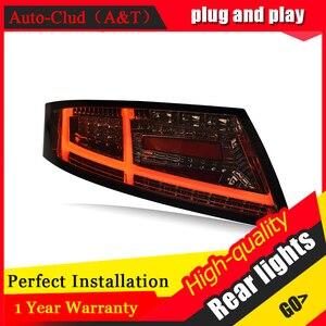Image 3 - Yeni LED arka lambaları meclisi Audi TT 2006 2013 için LED arka lamba fren ters arka arka lamba DRL araba park lambaları