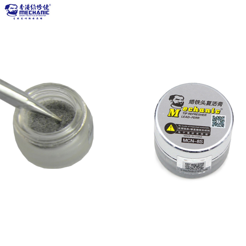 MECHANIC Repair Tools Soldering Iron Tip Refresher paste Clean Paste for Oxide Solder Iron Tip Head Resurrection