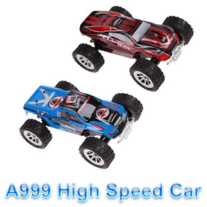 Baby Kids Cars Baby toys RC Truck Model Super WLtoys A999 1/24 25KM/H Proportional High Speed Car Christmas gifts VS A959 FSWB
