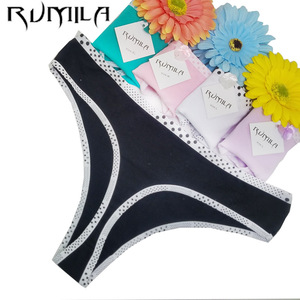 New Hot Cotton best quality Underwear Women sexy panties Casual Intimates female Briefs Cute Lingerie 1pcs/lot 87289(China)