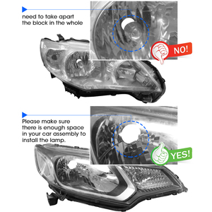 Image 4 - Hlxg 70 w/para lampa H4 mini projektor LED obiektyw Automobles LED żarówka zestaw do konwersji na LED Hi/reflektor z wiązką światła 12 V/24 V 5500K biały