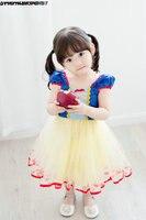 Poco Niñas pagent vestido burbuja manga rodilla longitud corta encantadora Primera Comunión Vestidos para Niñas