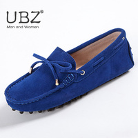 Women Shoes Spring Autumn 100 Genuine Leather Women Flat Shoes Handmade Flats Casual Loafers Lady Driving