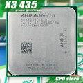 AMD Athlon II X3 435 CPU Процессор Трехъядерный (2.9 ГГц/L2 = 2 М/95 Вт/2000 ГГц) Socket am3 am2 + бесплатная доставка 938 pin продать X3 425