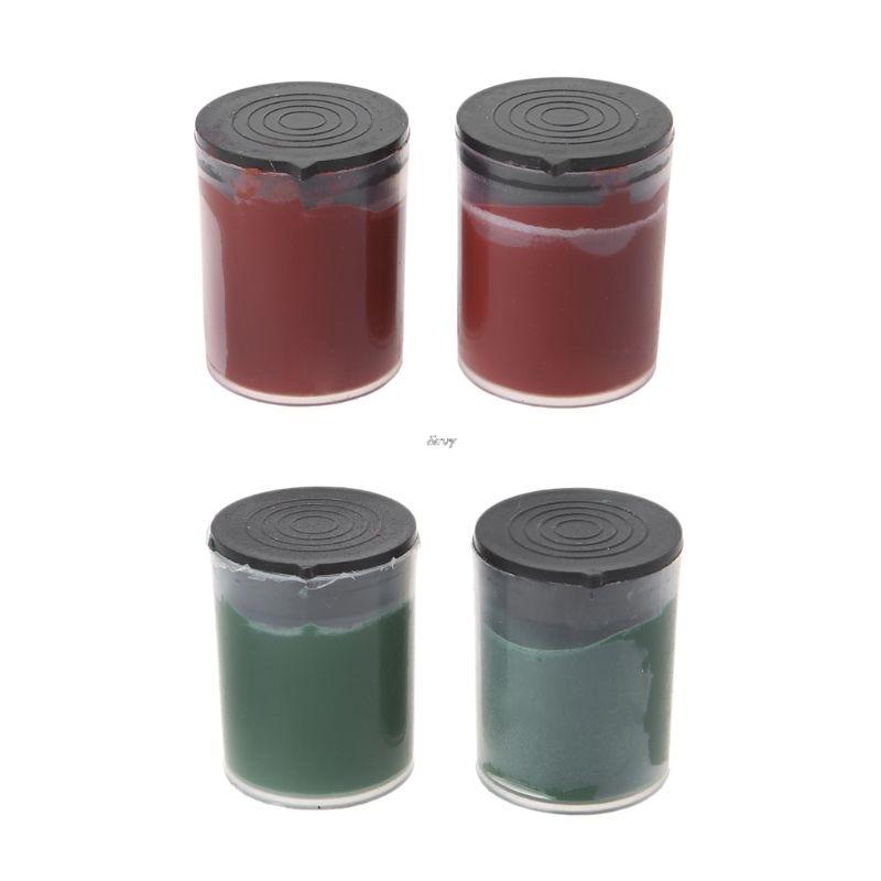 2pcs Metal Polishing Paste Chromium Oxide Lapping Abrasive For Grinding Tools