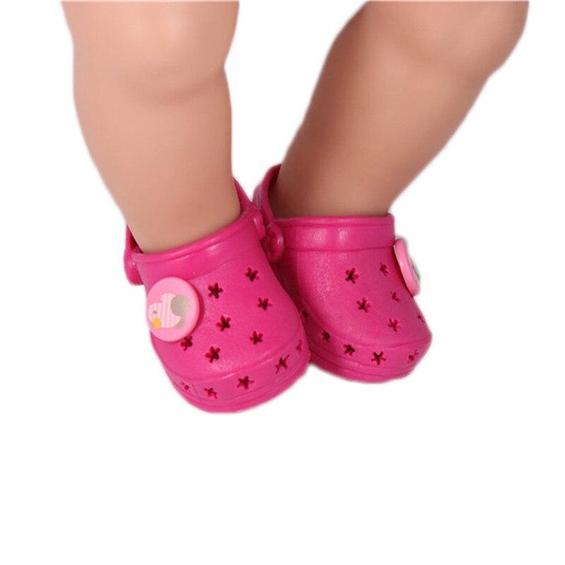 podgląd wspaniały wygląd ujęcia stóp Doll Accessories,Dark Red Shoelace Charms Crocs Doll Shoes ...