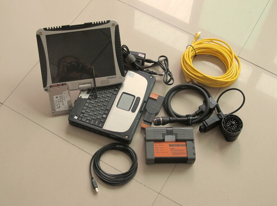 for bmw icom a2 with ssd super expert mode software with laptop cf19 touch screen ready to use diagnostic-tool