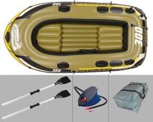 Каяк, весельная фишман лодке лодка, рыбацкая резиновой надувная подушке весло воздушной