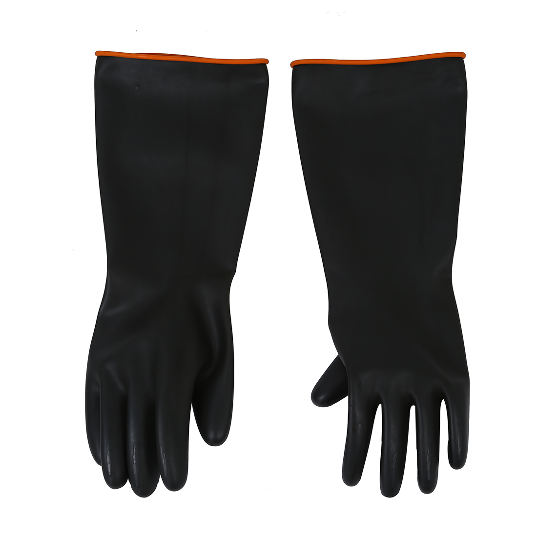 MOOL Pair Chemical Resistance Industry Elbow Long Rubber Gloves 18