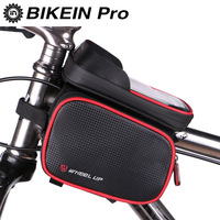 6 2 Inch Waterproof Touch Screen Bike Bag Front Frame Top Cell Phone TPU Cycling Bag