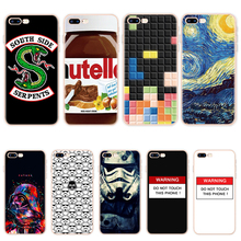 Dym TPU etui na telefon dla iPhone 8 7 6 6S Plus Riverdale dla iPhone XS Max XR etui z TPU dla iPhone 5 5S SE 5C 11X4 4S etui Capa tanie tanio Sam Armor Odporna na brud Anti-knock Aneks Skrzynki Cartoon cover Back for iPhone 11 Pro Max case 7Plus 8Plus Case Fundas