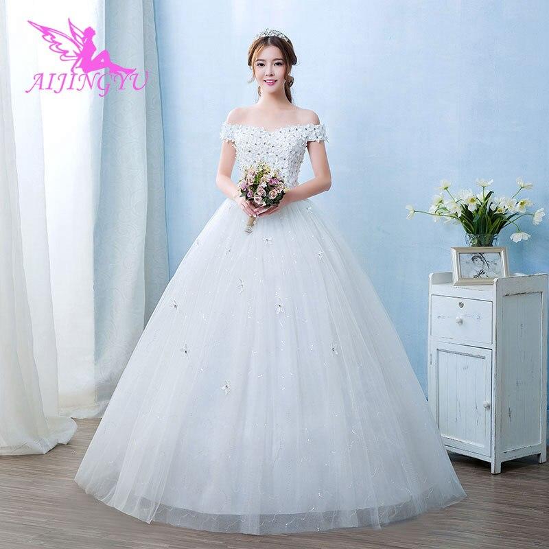 AIJINGYU long party for woman wedding dress lot bridal dresses 2018 WU262