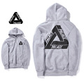 High Quality PALACE Brand Clothing Hoodie Men Women 100% Cotton Tracksuit Kanye Hip Hop Sweatshirt Triangle Skateboards Hoodies