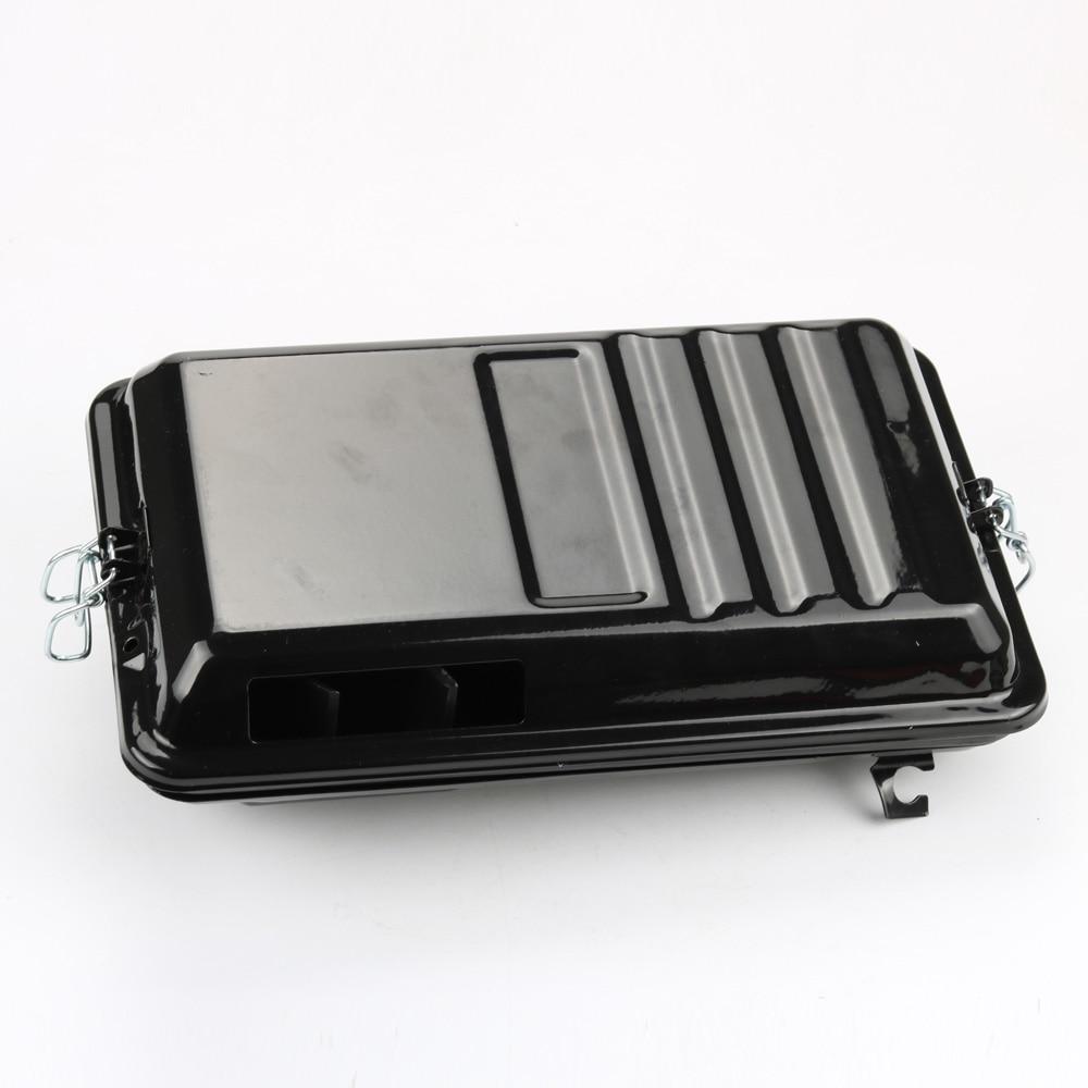 Metal Generator Air Filter Housing Cover for Honda GX340 11HP GX390 13HP Carburetor цена