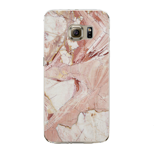 Marble Image Painted Phone Case For Samsung Galaxy S5 S6 S6Edge S6edgeplus S7 S7edge