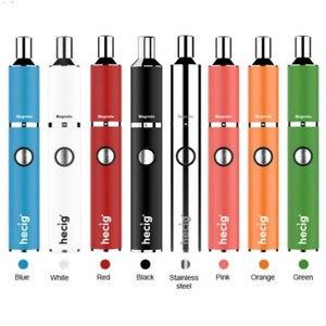 Image 1 - 2020 Hecig Kit vaporizzatore portatile penna vaporizzatore 1100mah batteria integrata Magneto vaporizzatore sigaretta elettronica bobina In ceramica 0.8oh